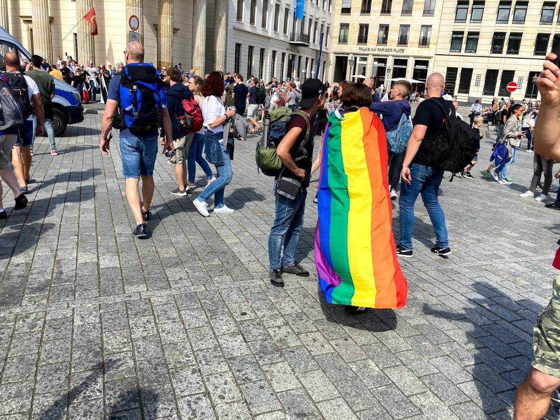 Regenbogen-Fraktion.
