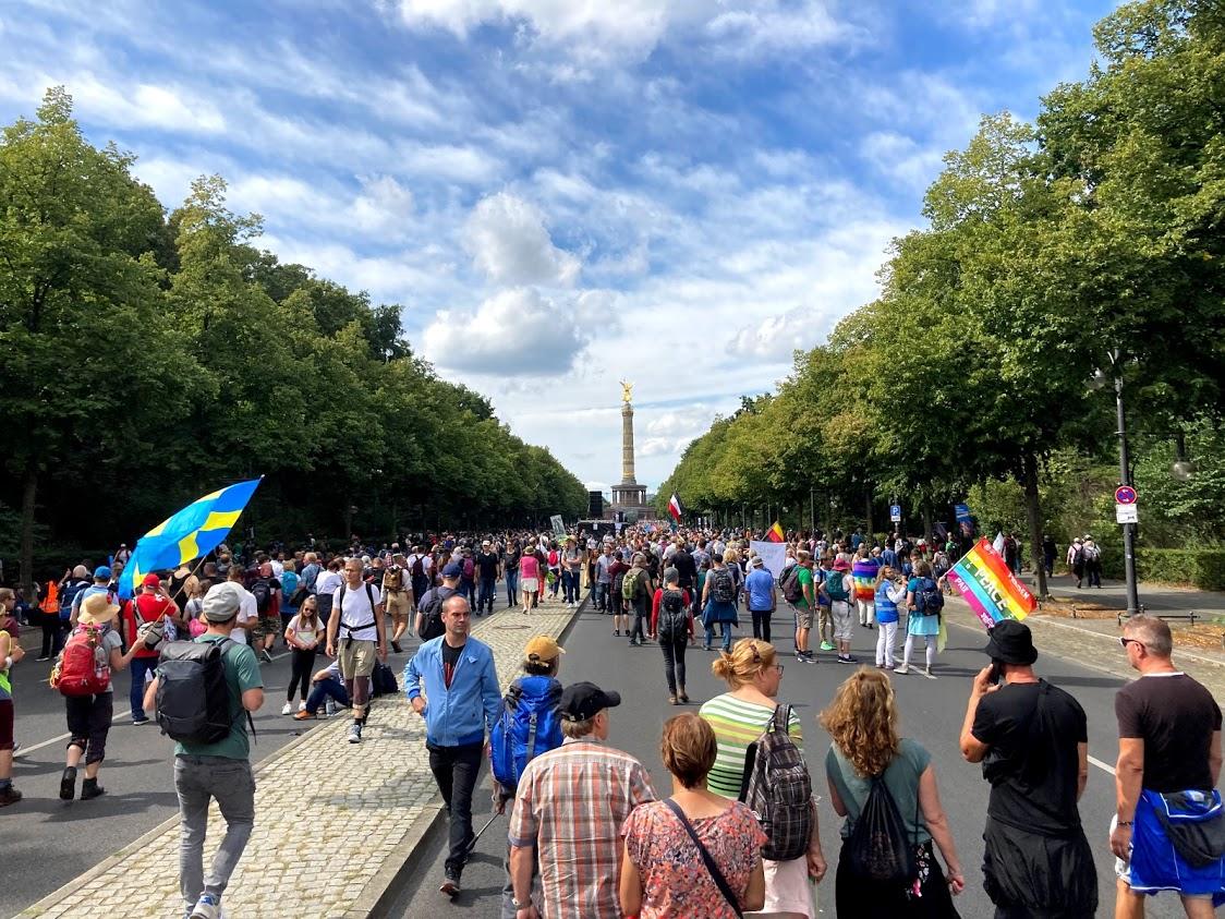 Straße des 17. Juni.