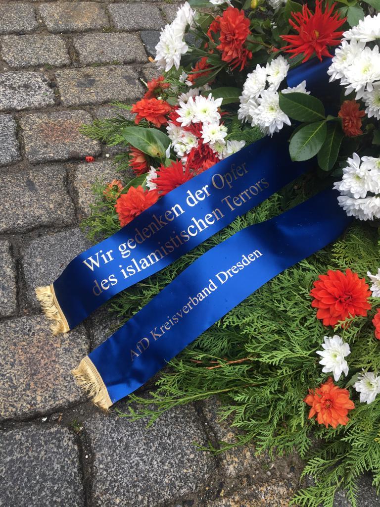 Gedenken an das Terror-Opfer von Dresden